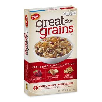 Post Grains Cranberry Almond 14 OZ
