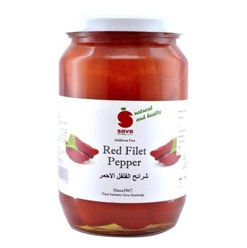 Sava Pickled Red Fillet Pepper 720 ml
