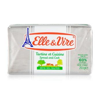 Elle&Vire Butter Salted 200 Gms.