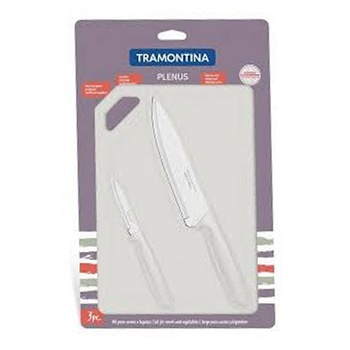 Tramontina Cutting Board+ 2 Pcs Knife
