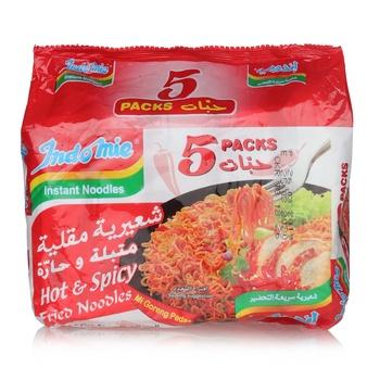 Indomie Noodle - Hot Fried Flavour 5x80g