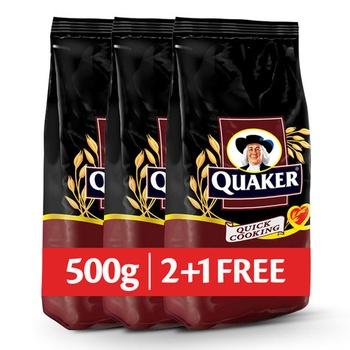 Quaker Oat 500g 2+1 Free