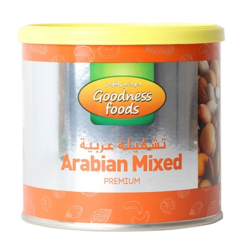 Goodness Food Arabian Mix Premium (Tin) 250g