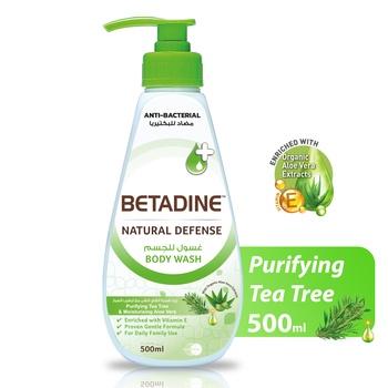 Betadine Body Wash Tea Tree Oil 500ml