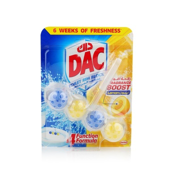 Dac Toilet Cleaner Power Active Lemon 51g