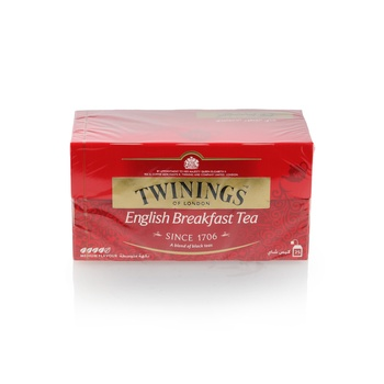 Twinings English Breakfast Tea Bag 25s