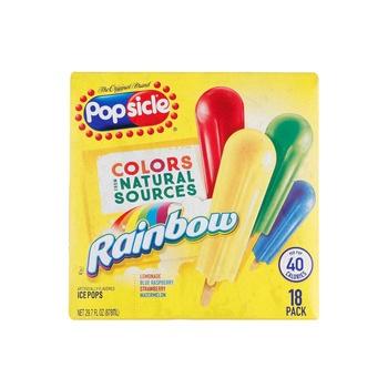 Popsicle Rainbow Icepop 18s pack