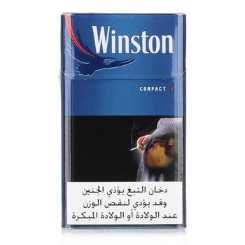 Winston Cigarettes Compact Blue 20s