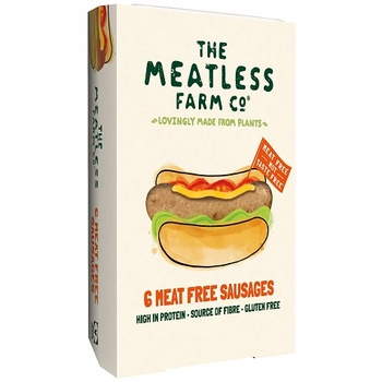 The Meatless Farm Co 6 Meat Free Sausages 300g