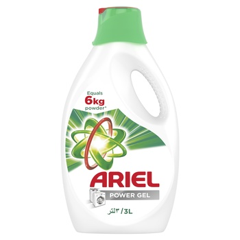 Ariel Automatic Power Gel Laundry Detergent Original Scent 3 ltr