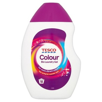 Tesco Laundry Gel Colour 540ml