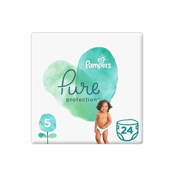 Pampers Pure Protection Size 5 24s