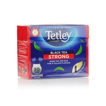 Tetley Drawstring Tea Bag Strong 50pcs
