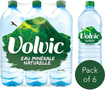 Volvic Water 1.5 ( 5+1 Free)1.5 ltr