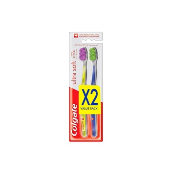 Colgate Ultra Soft Toothbrush Multipack 2pcs