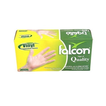 Falcon Vinyl Medium Gloves 100pcs