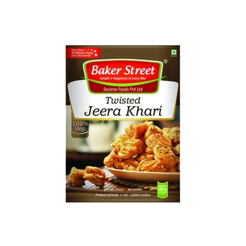 Baker Street Jeera Twist Khari 200g