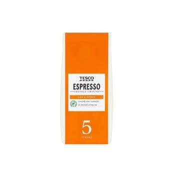 Tesco Espresso Ground Coffee # 5 Strong 2