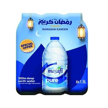 Masafi Water 6X1.5 ltr
