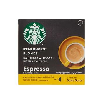 Starbucks Dolce Gusto Blonde Espresso Capsules 66g