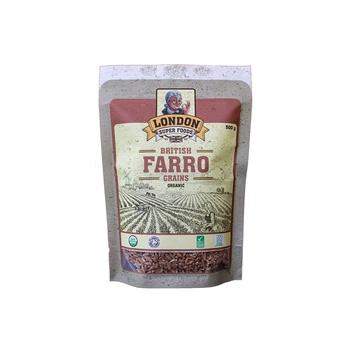 London Super Foods Organic Gluten Free Farro Grains 500g