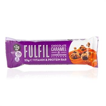 Fulfil Choco Caramel & Cookie dough 55g