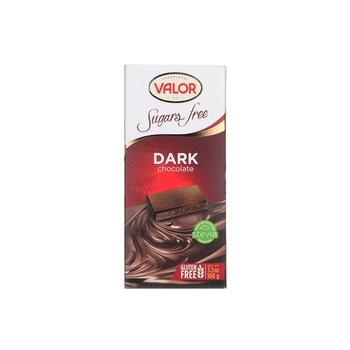 Valor Dark Chocolate No Sugar Added 100g