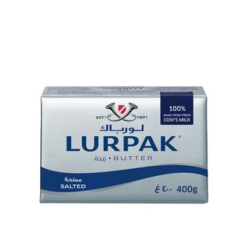Danish Lurpak Salted Butter 400g