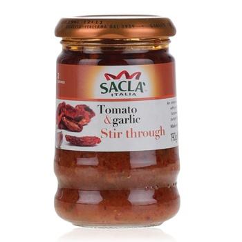 Sacla Sundried Tomato & Garlic 190g
