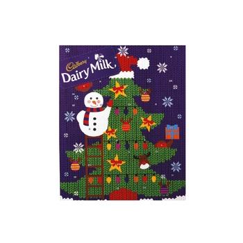 Cadbury Dairy Milk Advent Calendar 90g