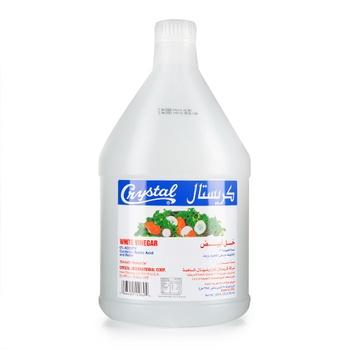 Crystal White Vinegar Plastic 1Gal