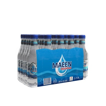 Maeen Mountain Natural Mineral Water 330ml pack of 20