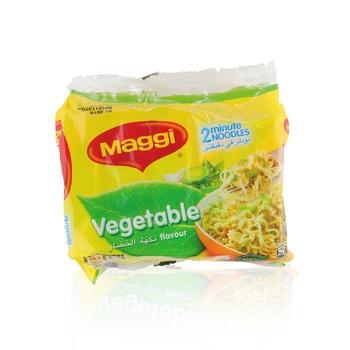 Maggi 2 Minute Vegetable Noodles 5 X 77g