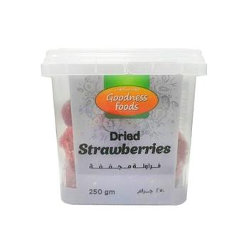 Goodness Foods Dried Strawberry 250g