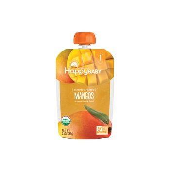 Happy Baby Organics Clearly Crafted Stage 1 Mangos 99g Pouch