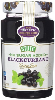 Stute diet jam black currant 430g