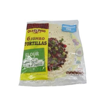 Old El Paso Flour Tortillas - Jumbo 450g