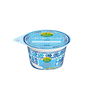 Nada Greek Yoghurt Plain 160g