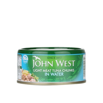 John West Light Meat Tuna Chunks In Water 170g