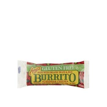 Amys Gluteen Free Burrito Bean & Cheese 5.5 Oz