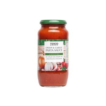 Tesco Onion & Garlic Pasta Sauce 500g