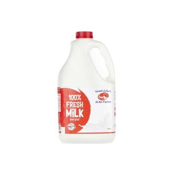 Al Ain Fresh Milk Low Fat 2ltr