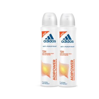 Adidas Adipower Anti-Perspirant Spray for Women 2 x 150ml @ 20% Off