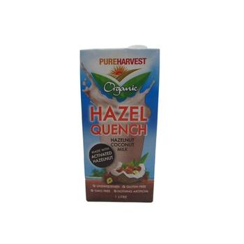 Pureharvest Organic Hazel Quench - Hazelnut Coconut Milk 1 ltr
