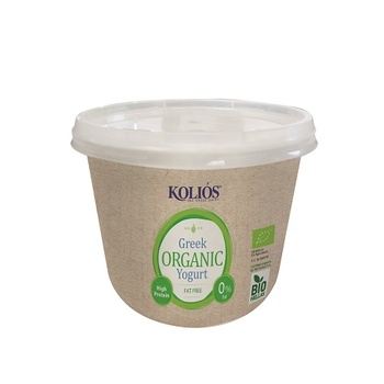 KOLIOS Authentic Greek Bio Strained Yoghurt 0% 500g