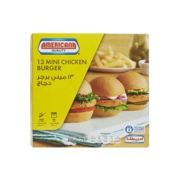 Americana Chicken Mini Burger 400g