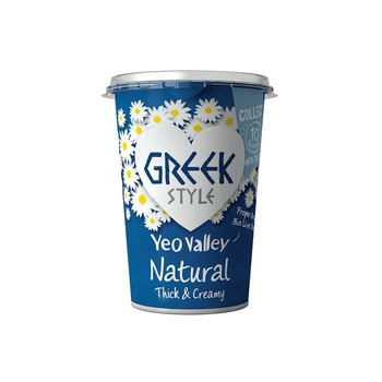 Yeo Valley Greek Style Natural Organic Yoghurt 450g