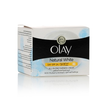 Olay Natural White Spf 24 Day Cream 50g