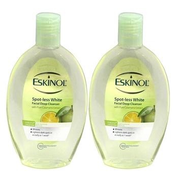 Eskinol Spot-less White Calamansi Facial Deep Cleanser 225ml Pack of 2