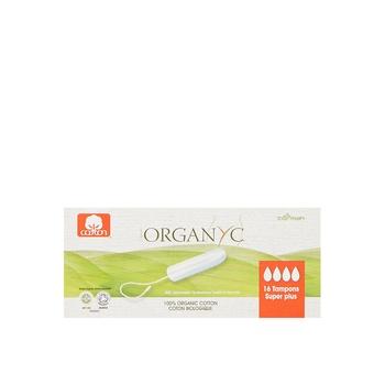 Organyc Tampons Super Plus 16s